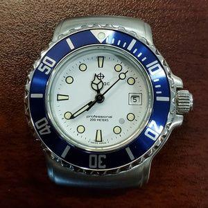 Zodiac Vintage 1990s Dot Divers Unisex Watch